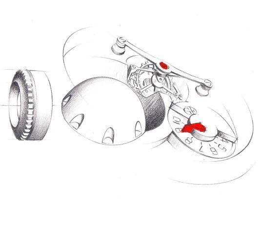 Greubel-Forsey Art Piece 1 : l'art de l'infiniment petit