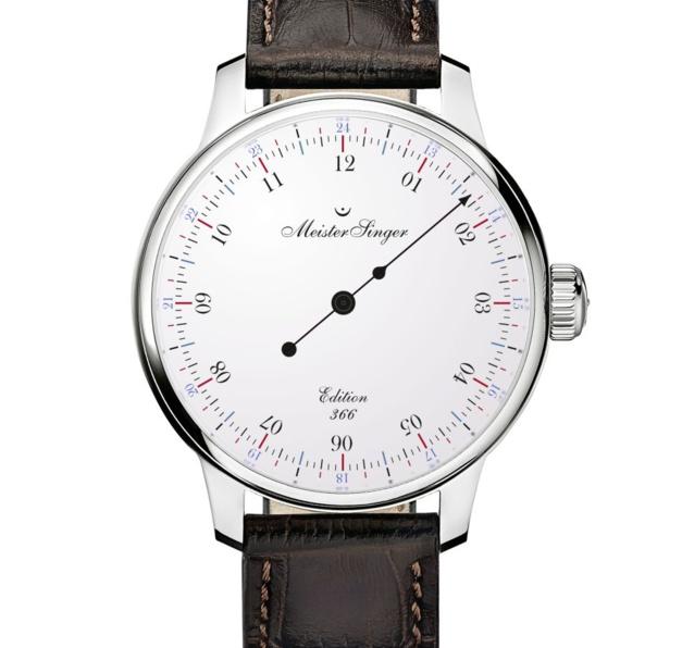 MeisterSinger Edition 366 : cent montres pour un jour de plus