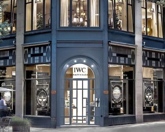 IWC ouvre une boutique exclusive à Zurich sur la Bahnhofstrasse, no 61