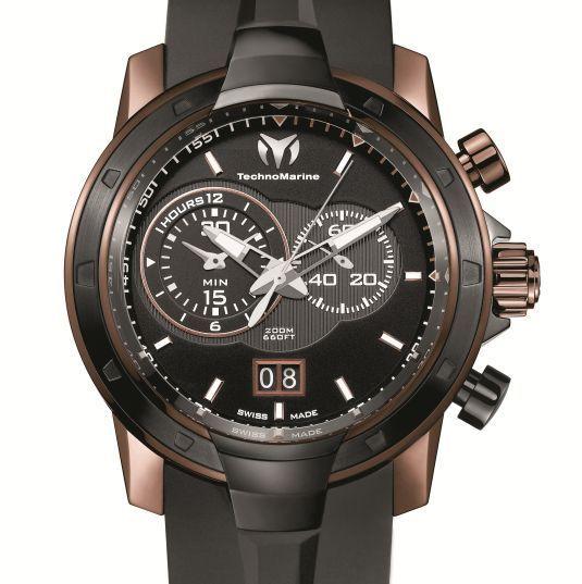 Technomarine UF6 Chronographe Grande Date : quartz de luxe