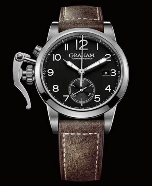 Graham Chronofighter 1695 : la plus élégante des montres Graham London