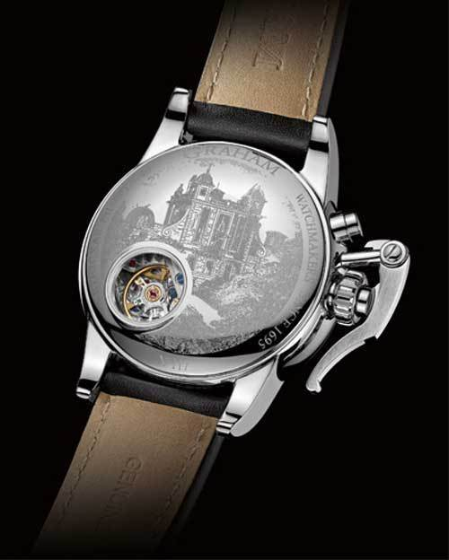 Graham Chronofighter 1695 : la plus élégante des montres Graham London