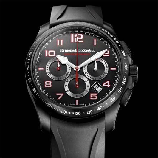 Ermenegildo Zegna : deux montres sportives « High Performance »