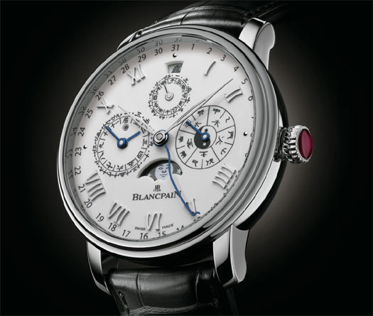 Blancpain Villeret Calendrier chinois traditionnel : hommage à la Chine