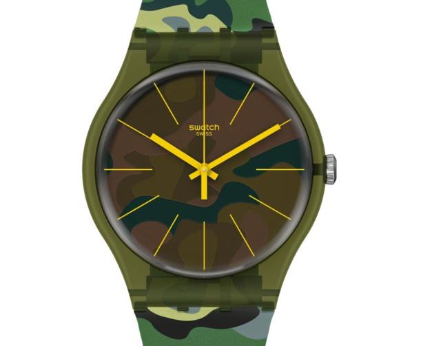 Swatch Essentials Camouforest