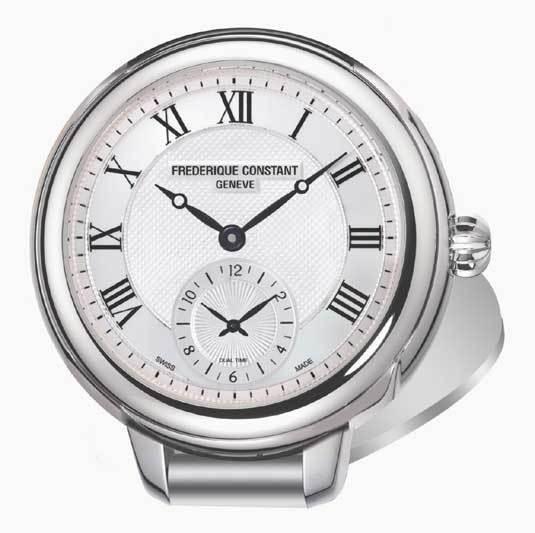 Frédérique Constant pendulette double fuseau horaire