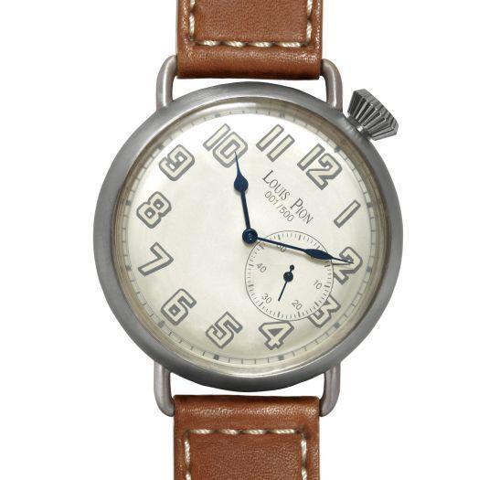 Louis Pion : une montre limitée à 500 exemplaires à l'occasion des cent ans de la coupole des Galeries Lafayette