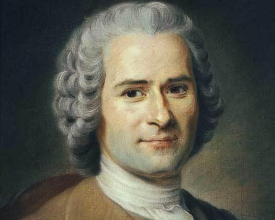 Jean-Jacques Rousseau. Pastel de Maurice Quentin de La Tour, DR
