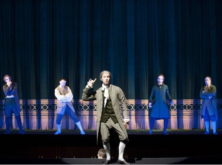 L'opéra JJR (citoyen de Genève) présenté par le Grand Théâtre de Genève du 11 au 24 septembre 2012 © GTG / Carole Parodi