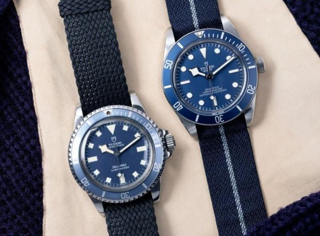 """Tudor Black Bay Fitfy-Eight """"Navy Blue"""""""