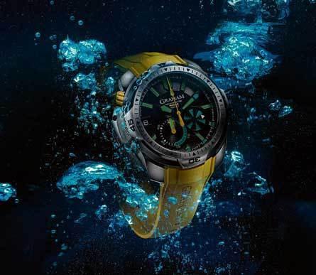 Graham Chronofighter Prodive : montre de plongée professionnelle