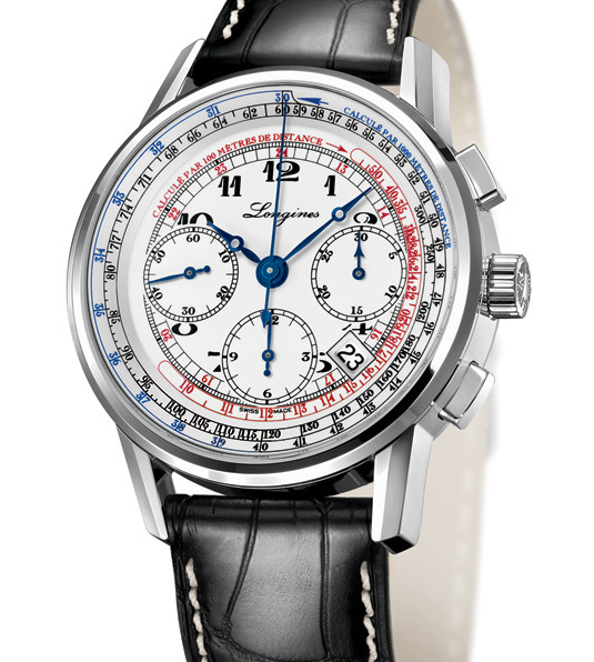 Longines' 180th Anniversary The Longines Telemeter Chronograph & The Longines Tachymeter Chronograph