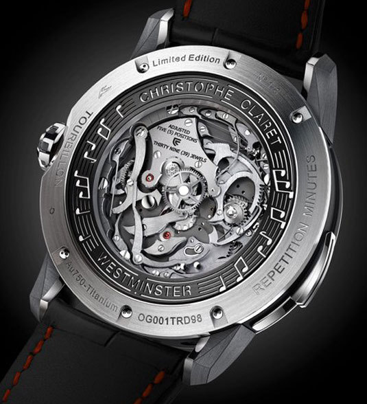Christophe Claret Soprano : tourbillon musical au design contemporain