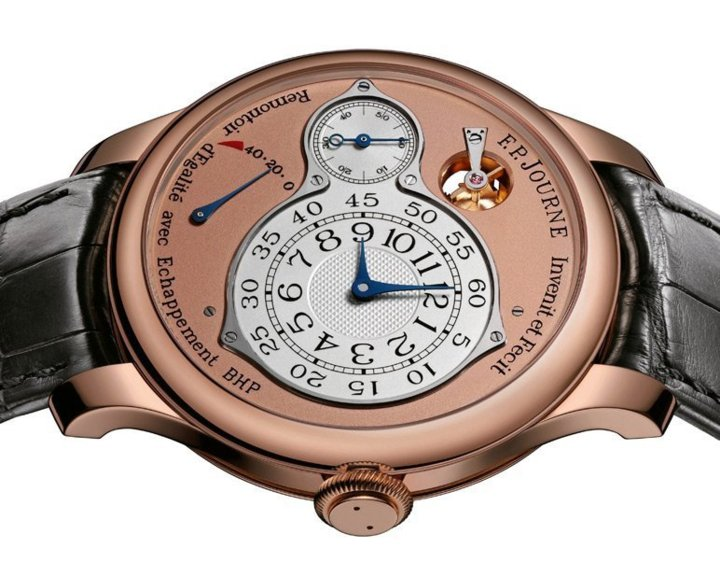 F.P. Journe Chronomètre Optimum : seconde morte naturelle