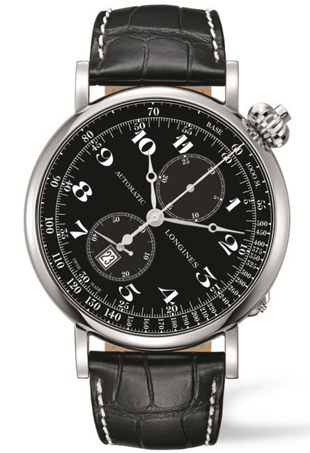 The Longines Avigation Watch Type A-7 montre de pilote et chronographe monopoussoir