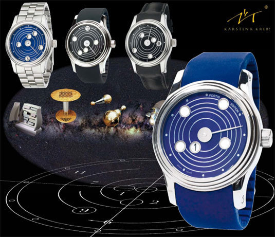 Fortis B-47 Mysterious Planets Limited Edition