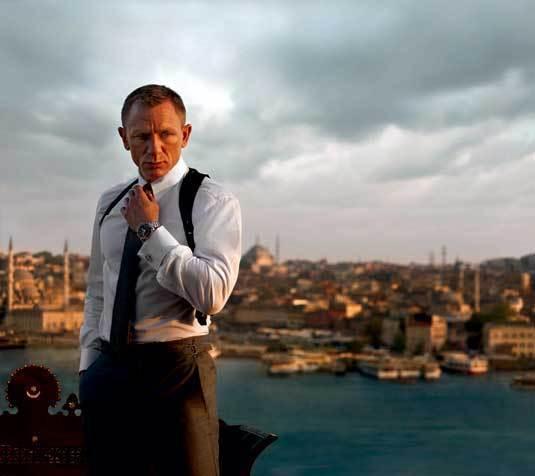 Skyfall : Omega et les vidéos du nouveau James Bond