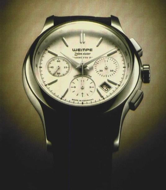 Wempe Zeitmeister : première montre allemande avec certificat de chronomètre