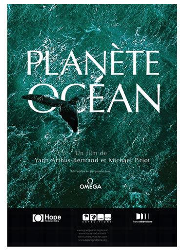 Omega Planète Océan : le film de Yann Arthus Bertrand et Michael Pitiot