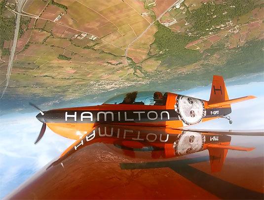 Hamilton : haute-voltige avec Nicolas Ivanoff, le « Corse rapide »