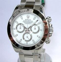 Daytona en acier, bracelet Oyster avec mouvement Rolex