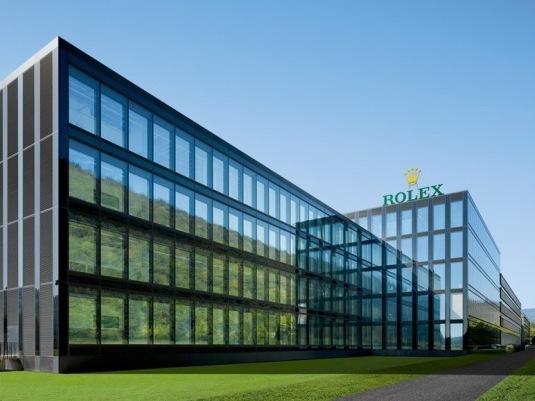 Rolex nouvelle manufacture de Bienne © Rolex / Roger Frei