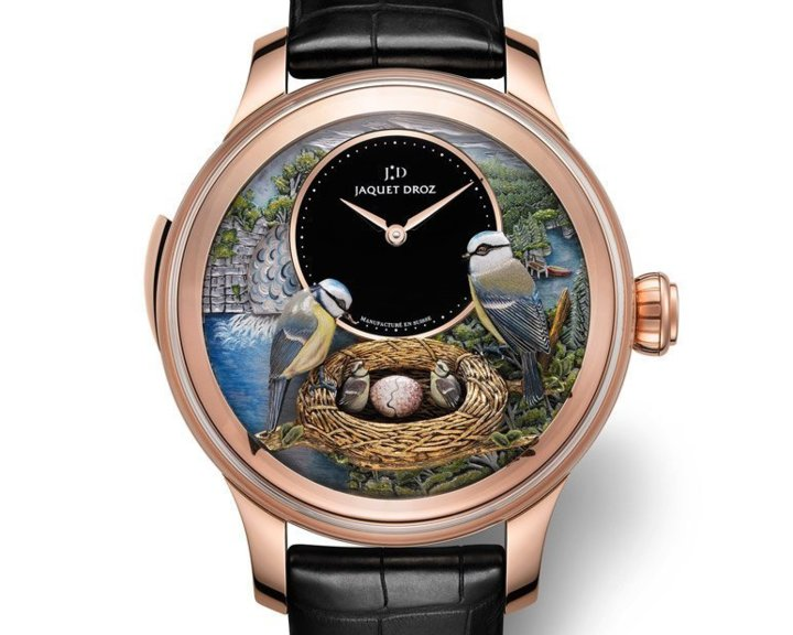 Jaquet Droz : The Bird Repeater, au plus près de la nature...