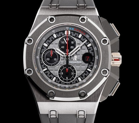 Chronographe Audemars Piguet Royal Oak Offshore Michael Schumacher titane