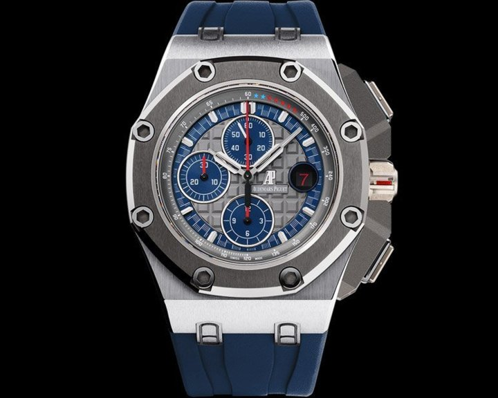 Chronographe Audemars Piguet Royal Oak Offshore Michael Schumacher platine