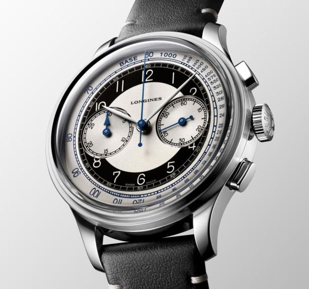 The Longines Heritage Classic Tuxedo chrono