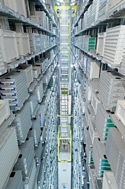 Rolex Bienne : le stock automatique, soutien à la production