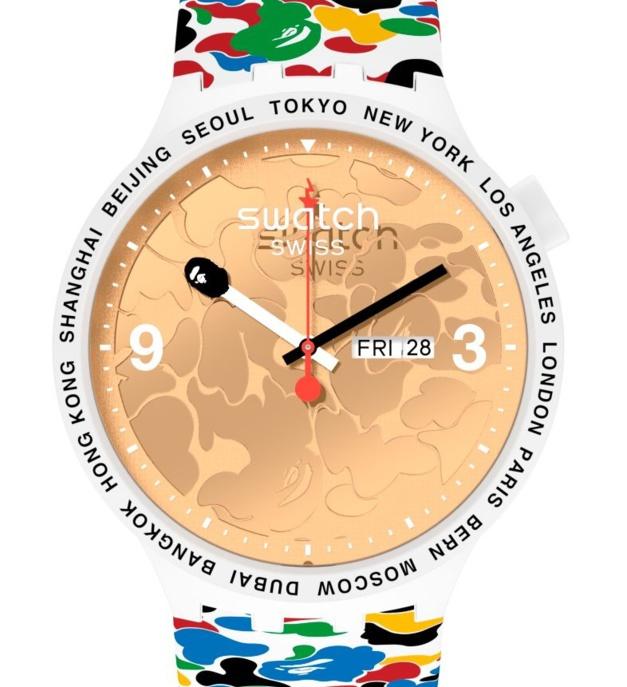 Swatch x BAPE Tokyo
