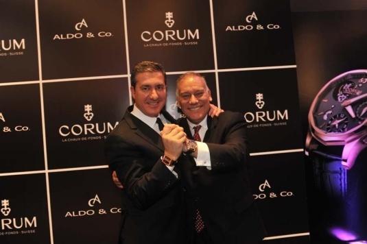 Antonio Calce et Aldo Noriega