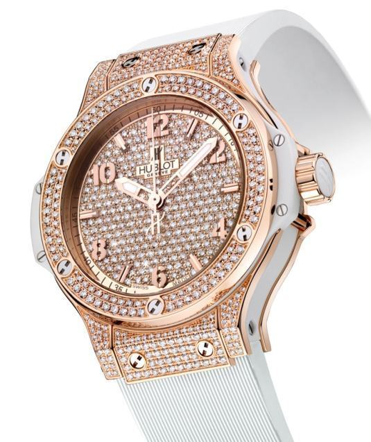 Hublot Big Bang Gold Full Pavé