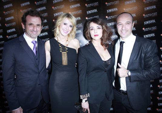 Nicolas Ivanoff, Alisson Miller, Valentina Lodovini et Sylvain Dolla