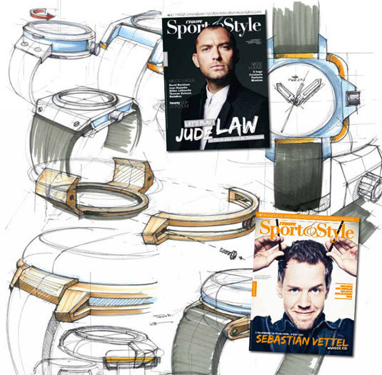 Un « concept watch » Sport & Style avec Marvin