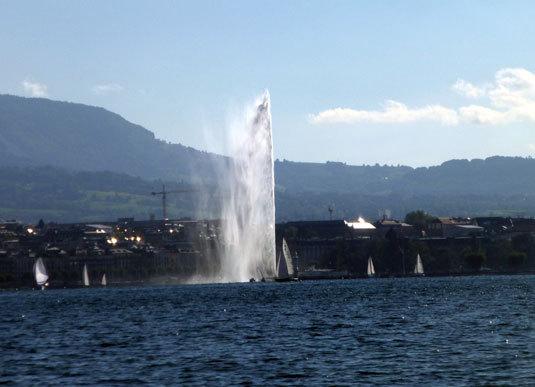 Genève : un tsunami dans le lac Léman reste envisageable…