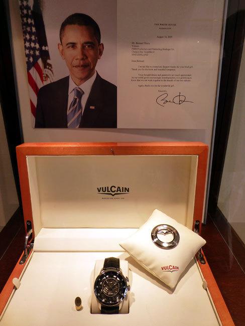 La lettre de remerciement du président Obama à Vulcain