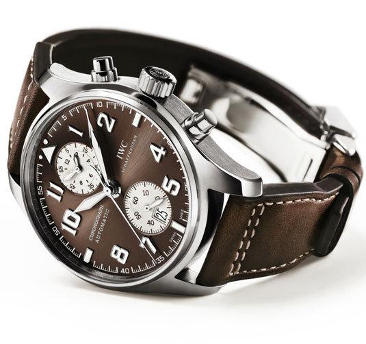 IWC montre d'aviateur Chronographe Edition Antoine de Saint Exupéry version acier