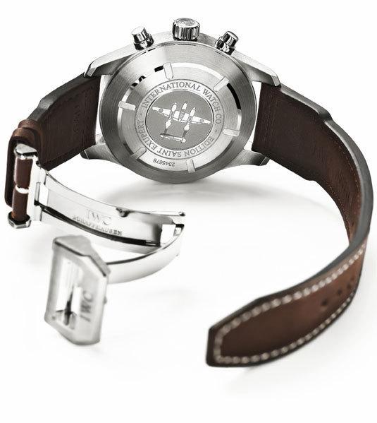 IWC montre d'aviateur Chronographe Edition Antoine de Saint Exupéry : version acier