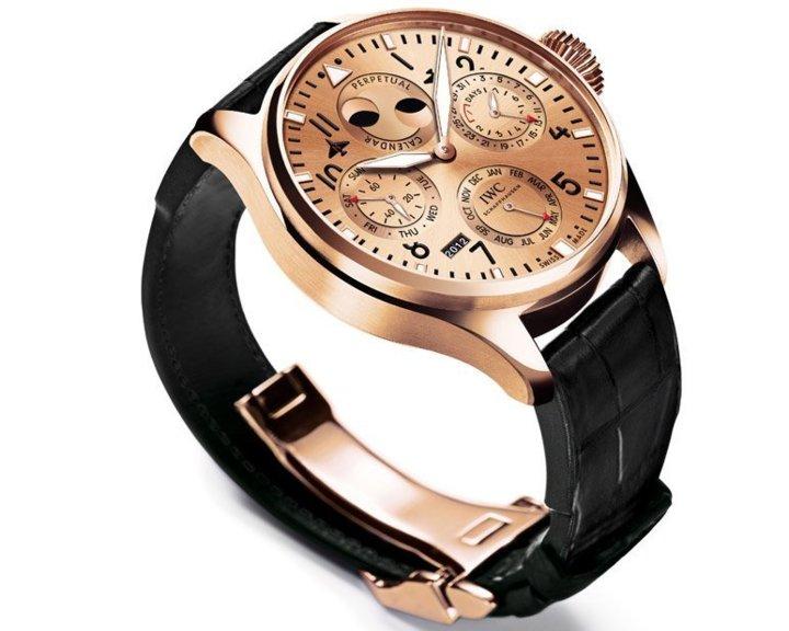IWC Boutique Exclusive Edition 2012 : trois éditions exclusives en or rouge réservées aux boutiques