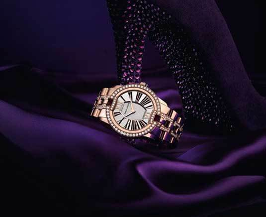 Roger Dubuis Velvet Diamants or rose