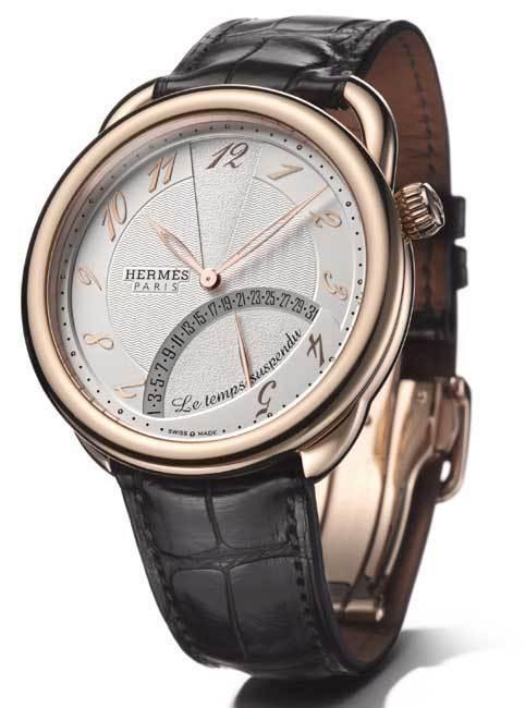 Hermès Arceau Le temps suspendu, version or rose
