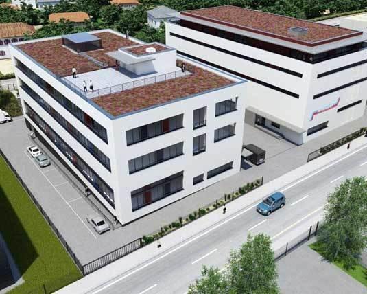 Fondation Audemars Piguet, Meyrin : pose la première pierre du nouveau bâtiment Centror