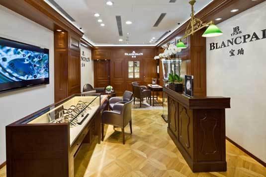 Blancpain inaugure une nouvelle boutique à Causeway Bay en plein coeur de Hong Kong