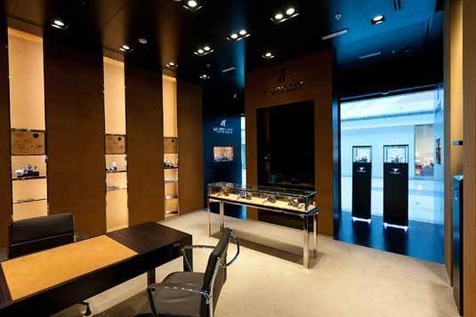 Hublot : une deuxième boutique à Abu Dhabi au Marina Mall