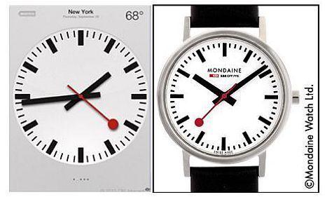 Apple : 16,5 millions d'euros pour utiliser le design des horloges de gares suisses