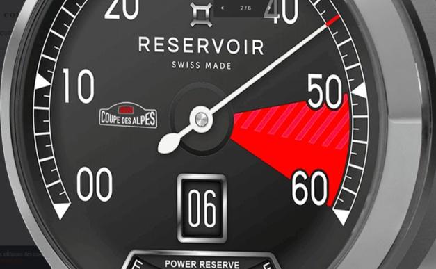 Réservoir Edition limitée Supercharged Coupe des Alpes 2020