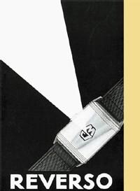 Ancienne publicité pour la Reverso copyright Jaeger-LeCoultre