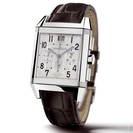 Reverso Squadra Chronograph GMT bracelet alligator